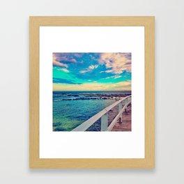 - Colors of Blue - Framed Art Print