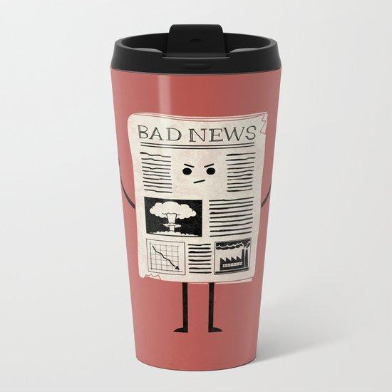 Bad News Metal Travel Mug