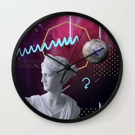 Ancient Gods and Planets: Ceres Wall Clock