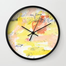 Dragonfly Pond, Singapore Wall Clock