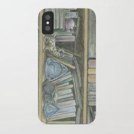 RHX Bookshelf Logo iPhone Case