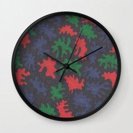 Instillation 4 Wall Clock