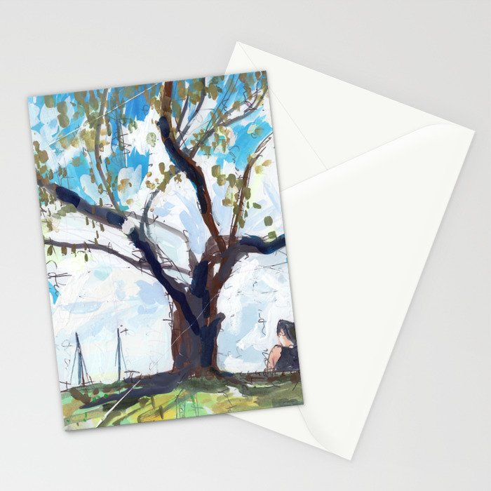 Gibsons Beach Reserve Stationery Cards