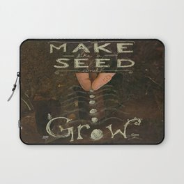 Sowing Seeds Laptop Sleeve