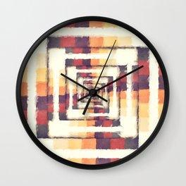 Box of Colors Wall Clock