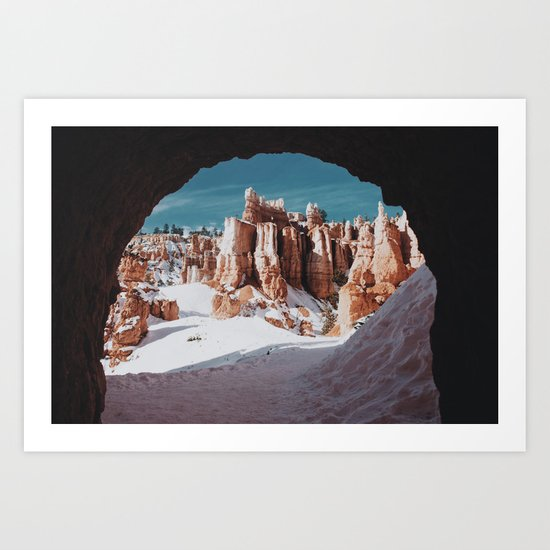 Through the Tunnel II Art Print