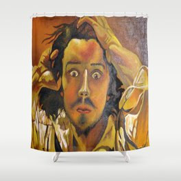 The Desperate Man Shower Curtain