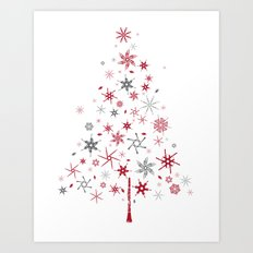 look closer, there's something hidden! Merry Christmas!  Art Print