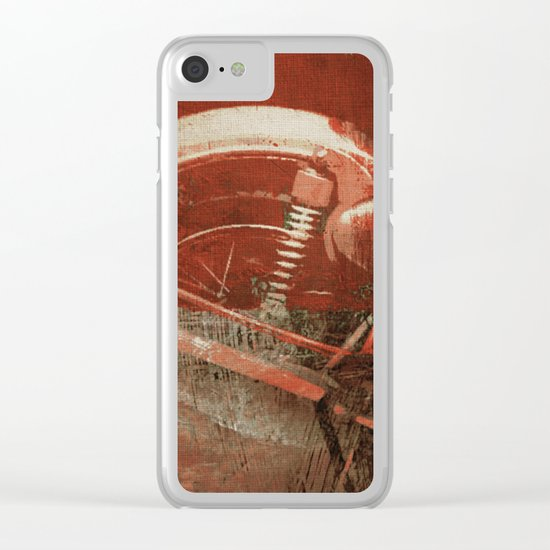 Strong Action Clear iPhone Case