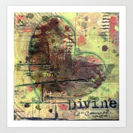 Permission Series: Divine Art Print