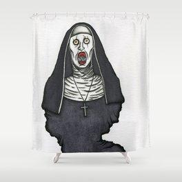 The Nun Shower Curtain