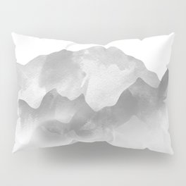 miss colored mountains Pillow Sham