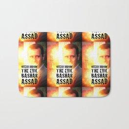 Bashar Assad Is Evil Bath Mat