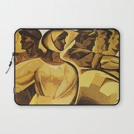 bread for us cccp sssr soviet union political propaganda revolution poster  Laptop Sleeve
