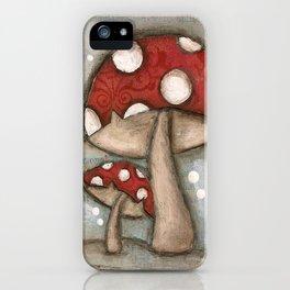 Mushrooms - by Diane Duda iPhone Case