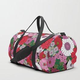 Vintage Florals Geranium Duffle Bag