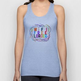 WIFI FREELOADER Unisex Tank Top