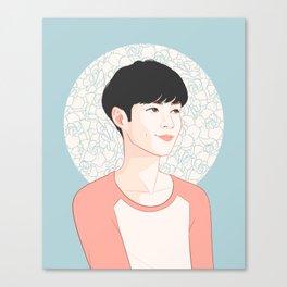 zhang yixing - exo lay Canvas Print