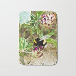 bumble bee on the dunes I Bath Mat
