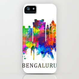 Bengaluru Karnataka Skyline iPhone Case