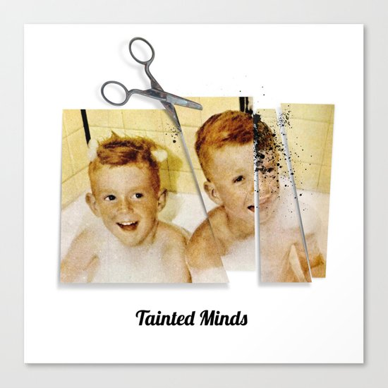 Tainted Minds Canvas Print