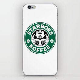 Starboks Koffee iPhone Skin