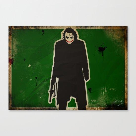 The Dark Knight: Joker Canvas Print