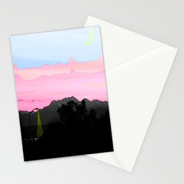 Illusion of Day Stationery Cards