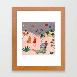 Horoscope 2018 for Marie-Claire France Framed Art Print