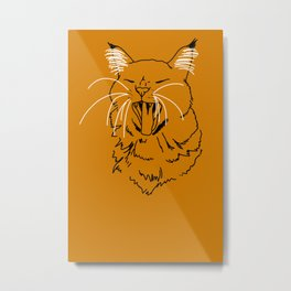 Beppe the cat Metal Print