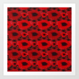 Poppies Design Art Print