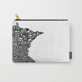 Typographic Minnesota Carry-All Pouch