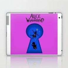 Alice In Wonderland - pink Laptop & iPad Skin