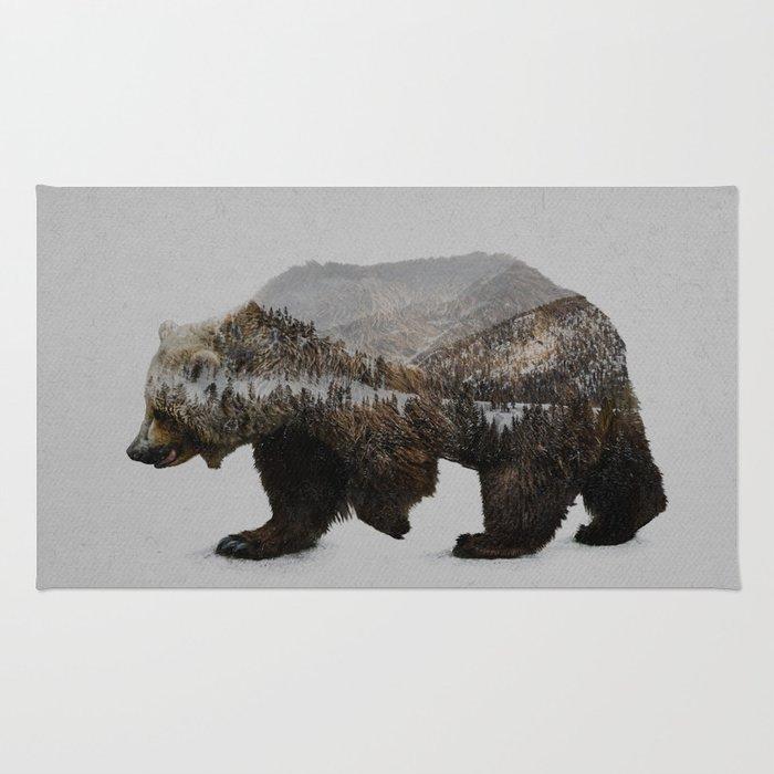 The Kodiak Brown Bear Rug By Daviesbabies