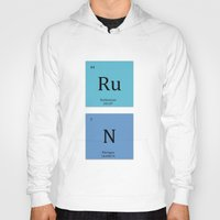 run Hoodies featuring Run by MeMRB