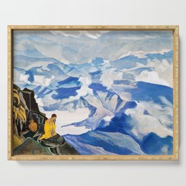 Nicholas Roerich - Drops Of Life - Digital Remastered Edition Serving Tray