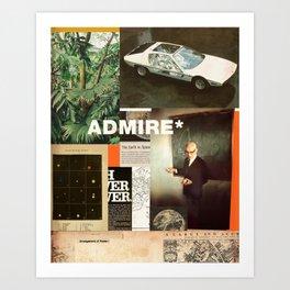Admire Art Print
