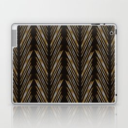 Wheat grass black Laptop & iPad Skin