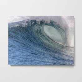 A Summers Wave Metal Print