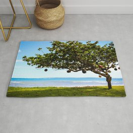 Hawaiian Buoy Tree Rug