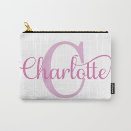 Charlotte - Girls Name Carry-All Pouch
