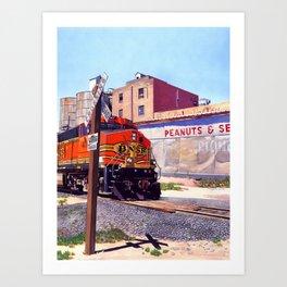 Portales Train Art Print