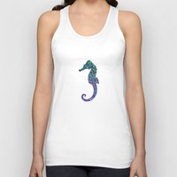 seahorse Tank Tops featuring SEAhorse by Monika Strigel