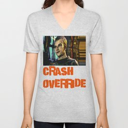 Crash Override Unisex V-Neck