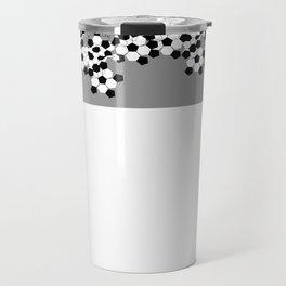Soccer Football Ball pattern design  Travel Mug