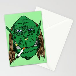 Smoking Ork Stationery Cards