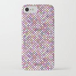 Happy Square Grid iPhone Case