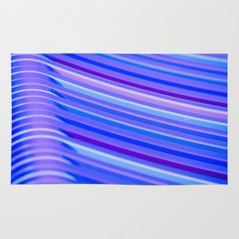 Purple Flow Rug