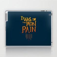 Iron rain Laptop & iPad Skin