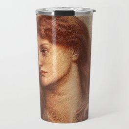 Alexa Wilding Pre Raphaelite Brotherhood Dante Gabriel Rossetti Travel Mug